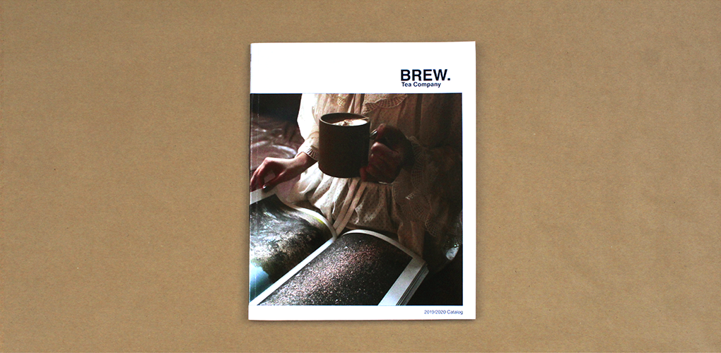 Brew Tea Compamny Catalog Cover Image